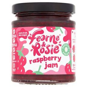 Fearne & Rosie Reduced Sugar Raspberry Jam