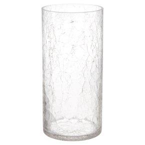 Waitrose Crackle Cylinder Vase