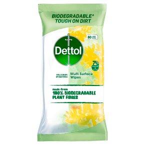 Dettol Biodegradable Wipes Citrus