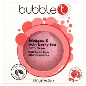 Bubble T Hibiscus Bath Fizzer