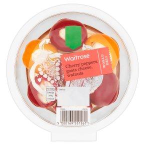 Waitrose Cherry Peppers, Goats Cheese, Walnuts
