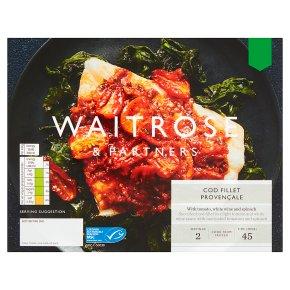 Waitrose Cod Fillet Provencale