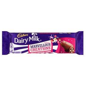 Cadbury Dairy Milk Marvellous Creations jelly popping candy chocolate bar