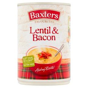 Baxters favourites soup lentil & bacon