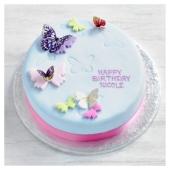 Fiona Cairns Butterflies Birthday Cake