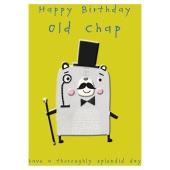 Greeting cards waitrose old chap happy birthday card m4hsunfo