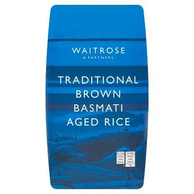 Waitrose LOVE life basmati brown rice