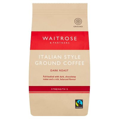 Ground Coffee Waitrose Partners