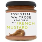 essential Waitrose French mustard - 180g