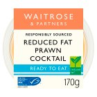 Waitrose reduced fat prawn cocktail - 200g