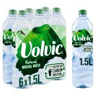 Volvic natural mineral water. - 6x1.5litre