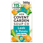 New Covent Garden leek & potato soup - 600g