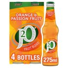 Britvic J2O orange & passion-fruit juice - 4x275ml