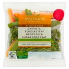 Waitrose Prepared Vegetable Trio - 80g
