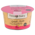 Tims Dairy Greek style yogurt with raspberry - 175g