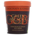 Green & Black's Chocolate & Ginger Ice Cream - 500ml