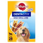 PEDIGREE DentaStix Daily Dental Chews Large Dog 28 Sticks - 4x270g