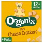 Goodies mini cheese crackers - 4x20g