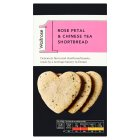 Waitrose 1 rose petal & Chinese tea shortbread - 135g