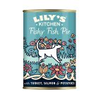 Lily's Kitchen fishy fish pie with peas - 400g