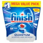 Finish Quantum 64 Dishwasher Tablets - 930g